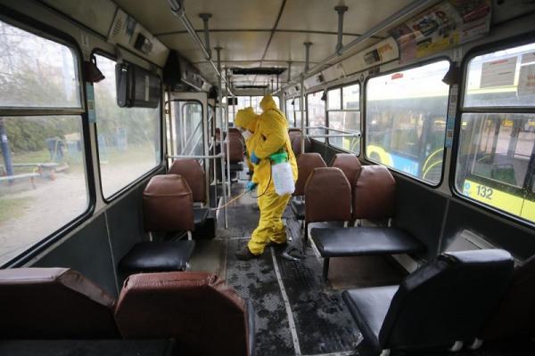 Че проводять у чернівецькому громадському транспорті дезінфекцію?