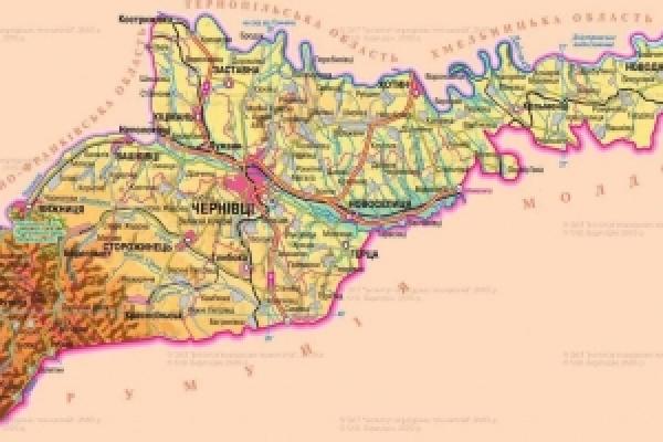 Чернівецьку область хочуть поділити на три райони