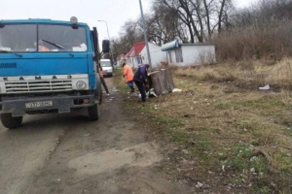 На під'їзді до КПП «Порубне» встановлять 20 сміттєвих баків