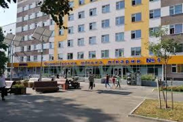 Чернівецька міська лікарня № 1 приймає людей з підозрою на COVID-19