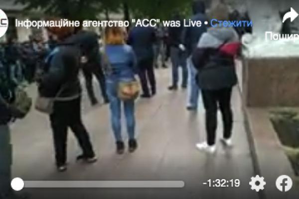 Пікет у Чернівцях: підприємці вимагають відкрити ринки (Відео)