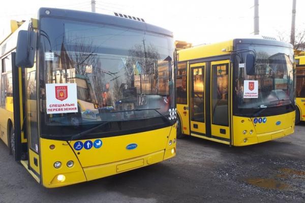 Завтра у Чернівцях припинять курсування тролейбуси за двома маршрутами