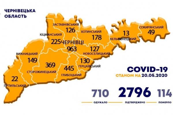 У яких населених пунктах виявлено коронавірус за останню добу