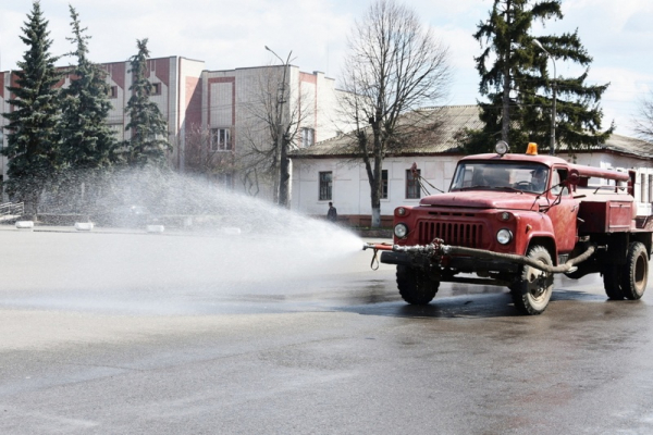 Від сьогодні на Буковині припиняють дезінфекцію вулиць