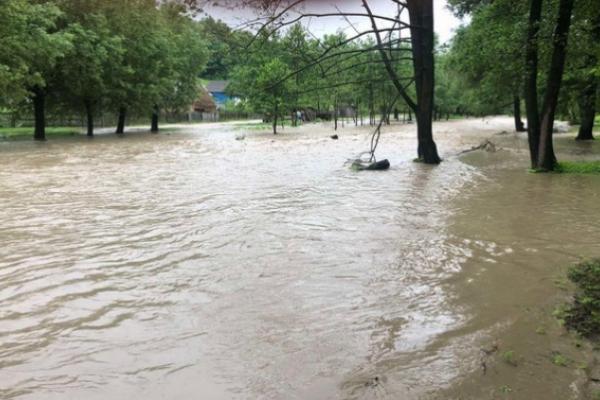 Паводки на Буковині: села підтоплює та загроза розмиву дамби (фото)