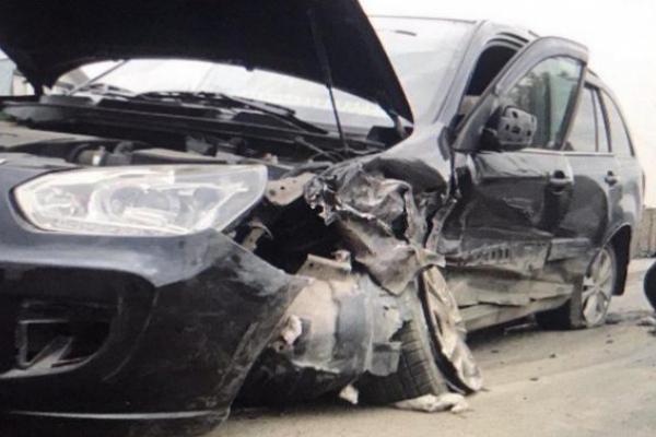 ДТП у Мамаївцях: двоє людей отримали травми (Фото)