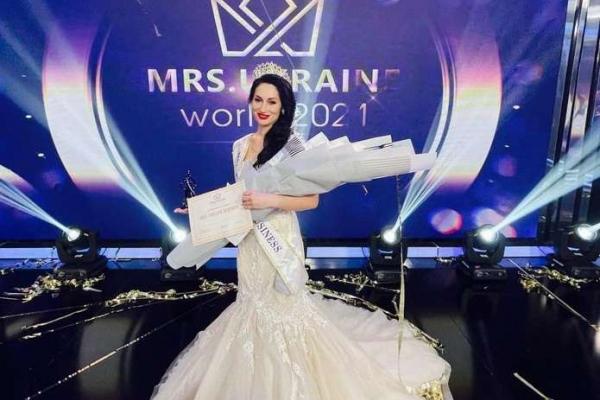 Яна Дімітрова з Чернівців здобула титул «Mrs Ukraine Business 2021» на престижному конкурсі у Києві