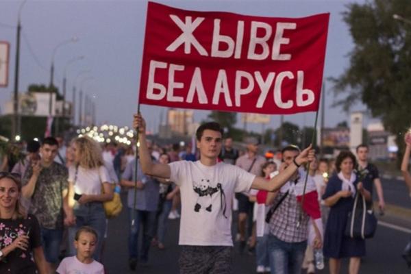 Сім місяців протестам у Білорусі