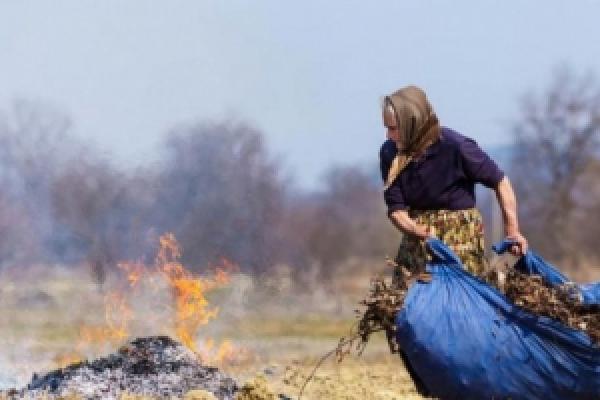Які тисячі штрафу кожен буковинець може сплатити за спалювання сухої рослинності