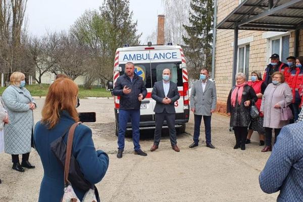 15 тисяч населення Новодністровська та прилеглих сіл обслуговуватиме нова бригада «швидкої»