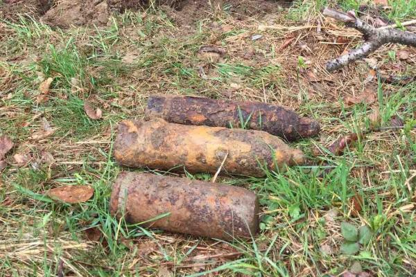 Буковинські піротехніки знищили три снаряди часів Першої Світової (ФОТО)