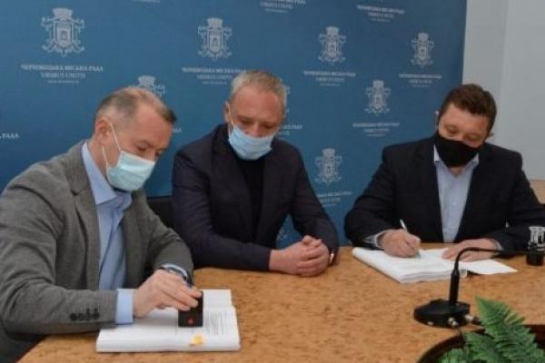 У Чернівцях збудують найбільшу станцію виробництва гіпохлориту в Україні. Якість питної води значно покращиться