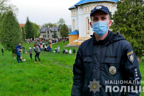 Буковинські поліцейські забезпечили правопорядок під час Великодніх богослужінь