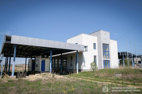 Визначено підрядника для завершення робіт на КПП «Дяківці»