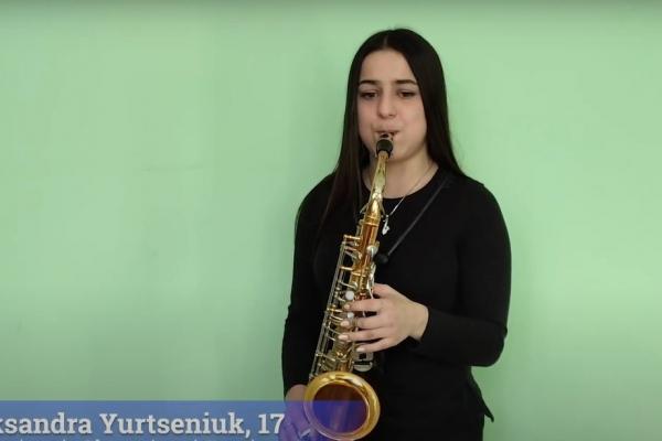 Буковинська музикантка зіграла з оркестром військово-повітряних сил США в Європі