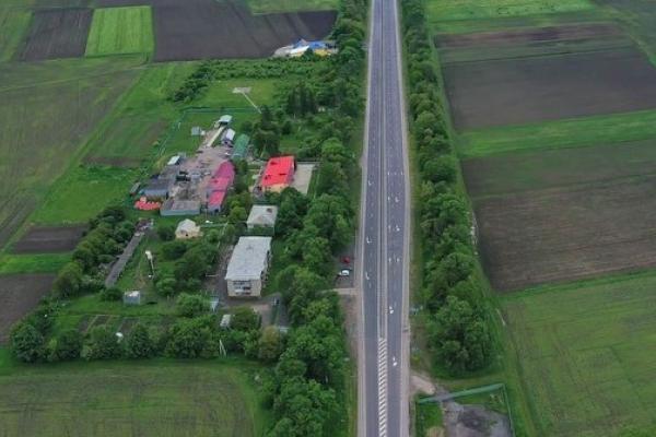 Який вигляд має відремонтована траса М-19 із висоти пташиного польоту на околицях Валя Кузьміна та Грушівки (ФОТО)