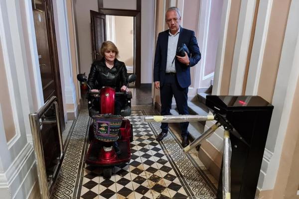 Голова товариства інвалідів