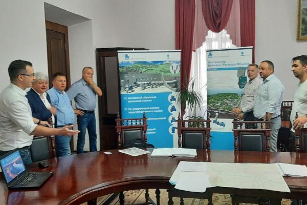 Ізраїльські фахівці презентували у Чернівцях обладнання, яке можуть використати на проблемних ділянках водогону