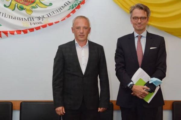 Мер Чернівців та Посол Швеції в Україні обговорили питання співпраці у різних сферах