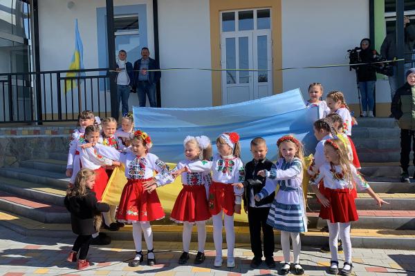 На Глибоччині завершили будівництво дитсадка на 180 місць, яке тривало десять років