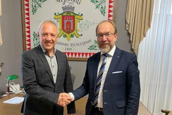 Обговорили перспективи співпраці: Роман Клічук зустрівся з президентом ТПП України