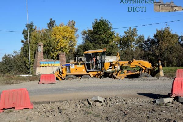 На скандальному кільці біля Хотина розпочалися підготовчі роботи (ФОТО)