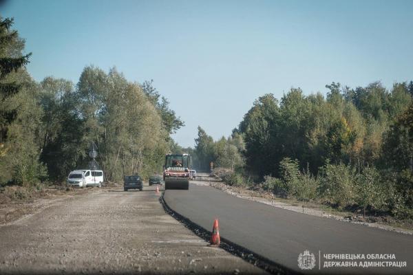 Триває ремонт прикордонної дороги до пункту пропуску «Красноїльськ»