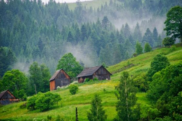 Дом в горах: преимущество такой жизни